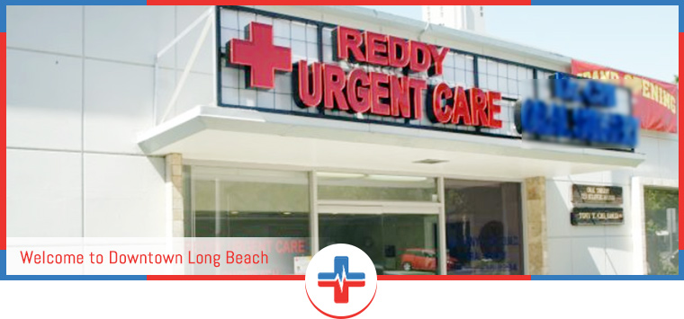 Directions to Reddy Urgent Care and Walk In Clinic in Downtown Long Beach, CA