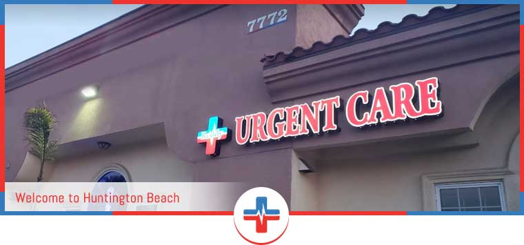 Directions to Reddy Urgent Care and Walk In Clinic in Huntington Beach, CA