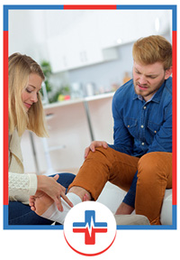 Sprains and Broken ankles Services Urgent Care in Long Beach, Huntington Beach and Paramount, CA